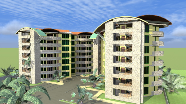 apartment building in Kenya