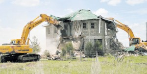 syokimau demolition of house plans in kenya