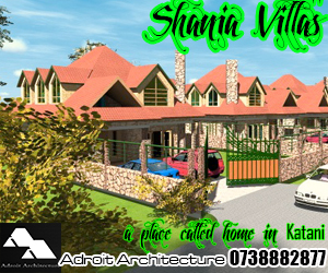 Shania Villas, dream homes in kenya