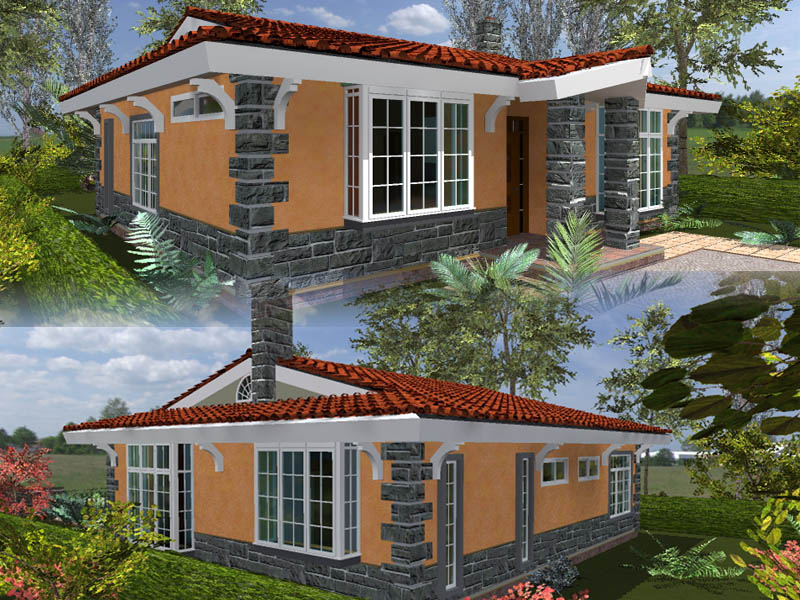 3 bedroom house plans by kenyan architect