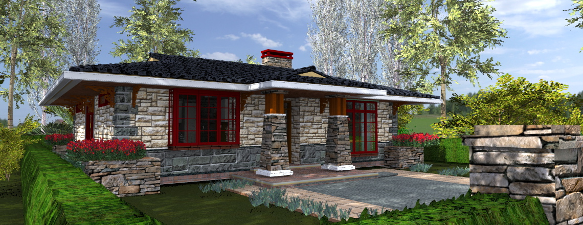 3 bedroom house kenyan architecture