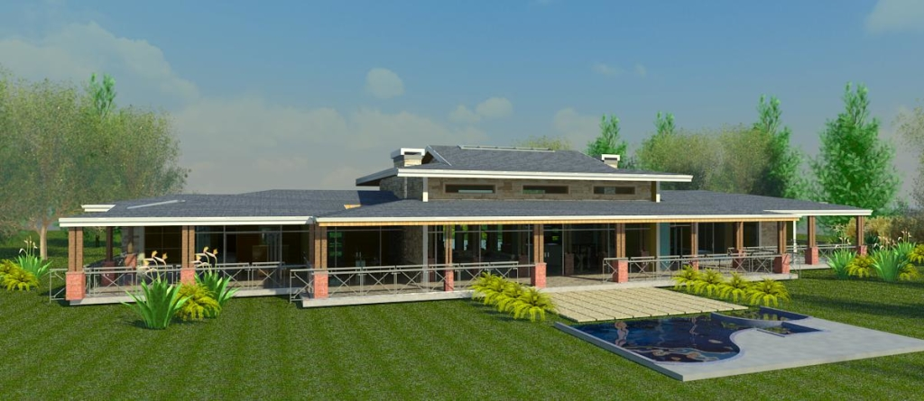 kenyan architecture house in Kitale