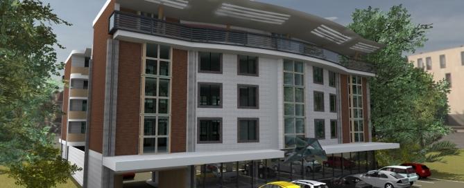 office block by kenyan architect