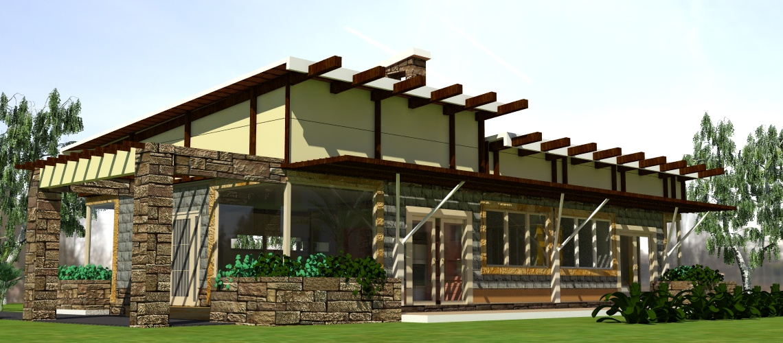 modern house for sale by Kenyan architect