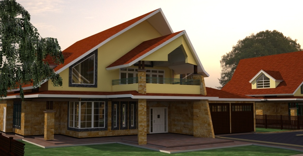 residential house by Kenyan architect