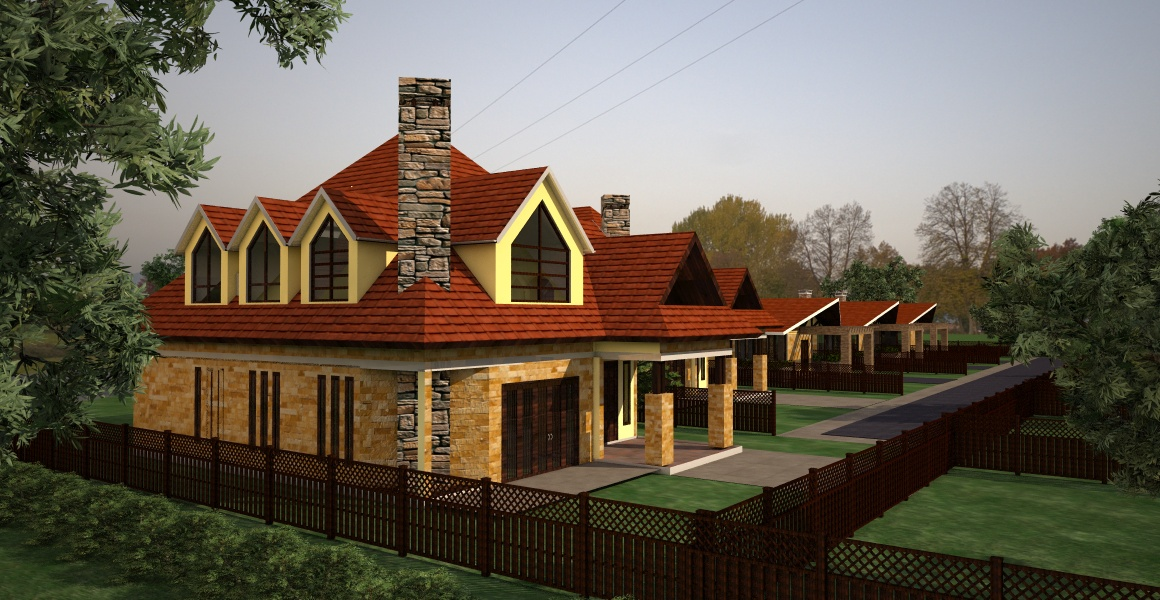 house to buy in Athi River by Architect in Kenya