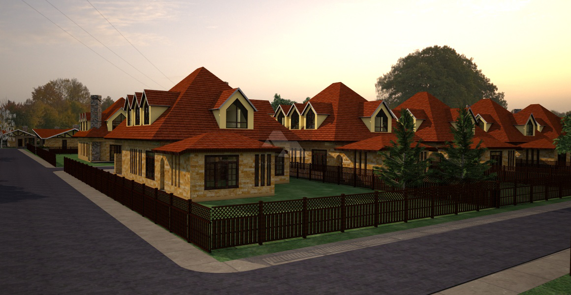 Shania Villas houses for sale by Kenyan architect