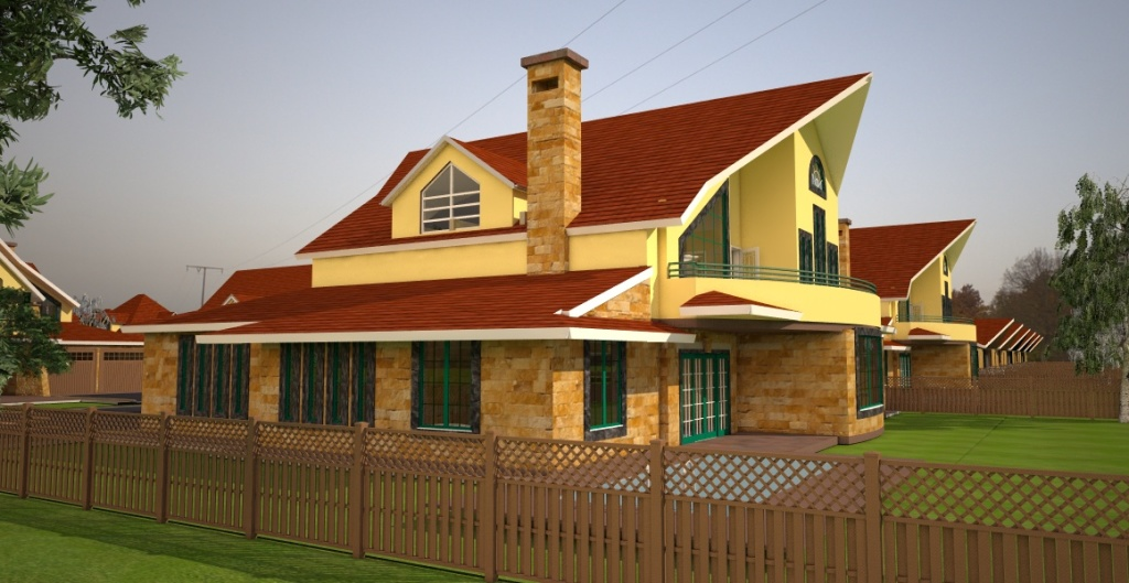 house in Athi River by architect in Kenya