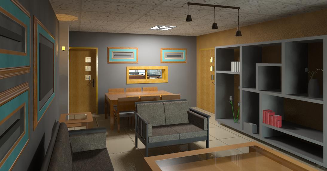 Apartment buildings in kikuyu david chola architect for Living room designs kenya