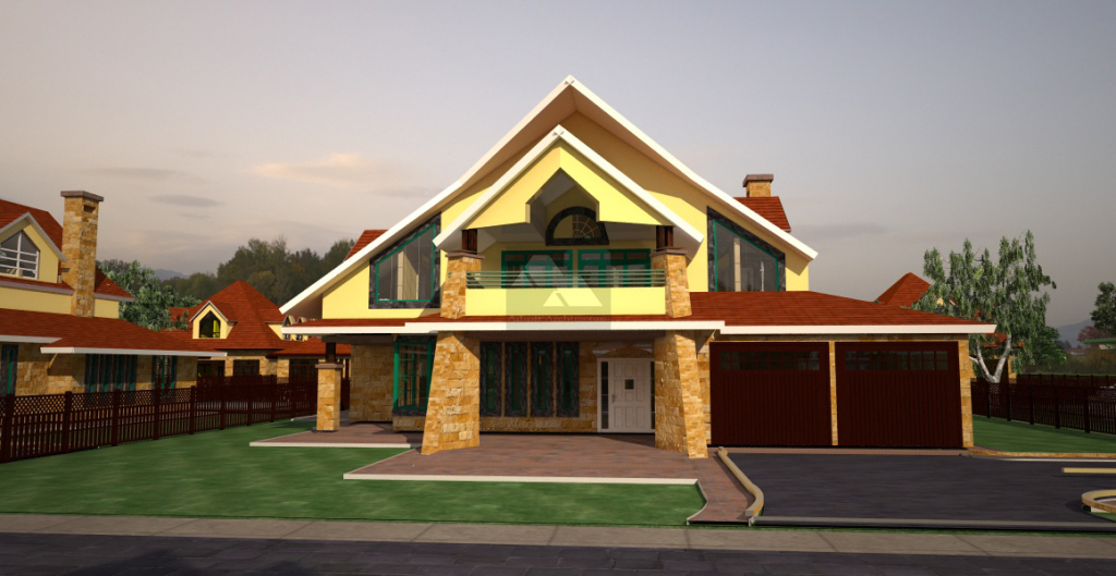 houses for sale by Kenyan architect