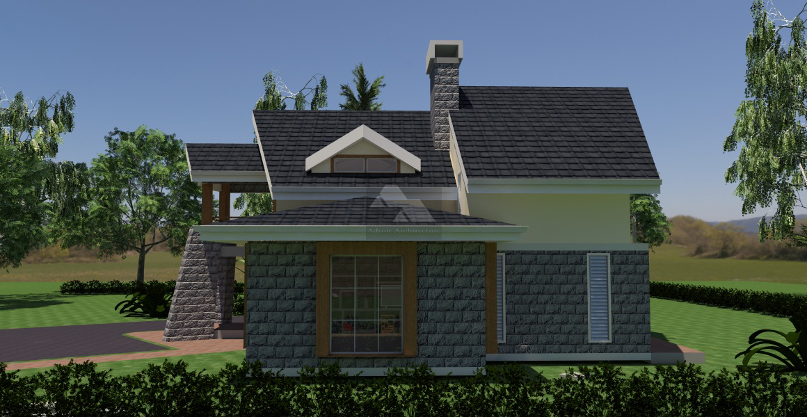 Four bedroom home plans kenya joy studio design gallery for Best modern house design in kenya