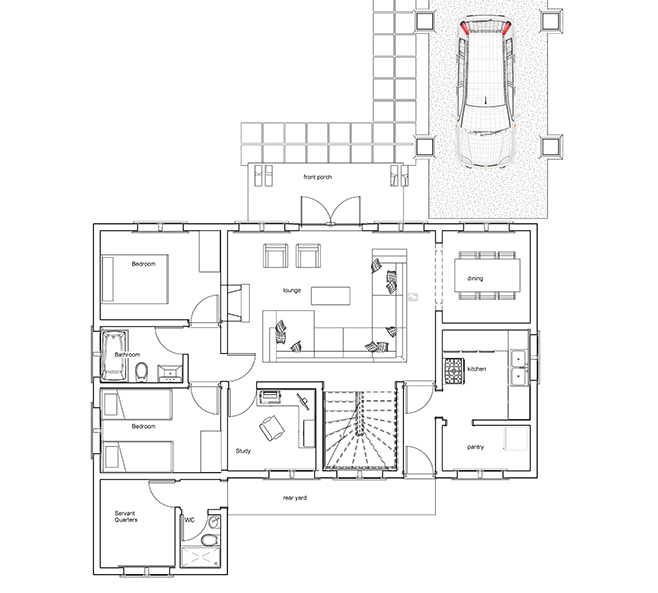 House plans in kenya bungalow on kenya house plans with 4 bedrooms