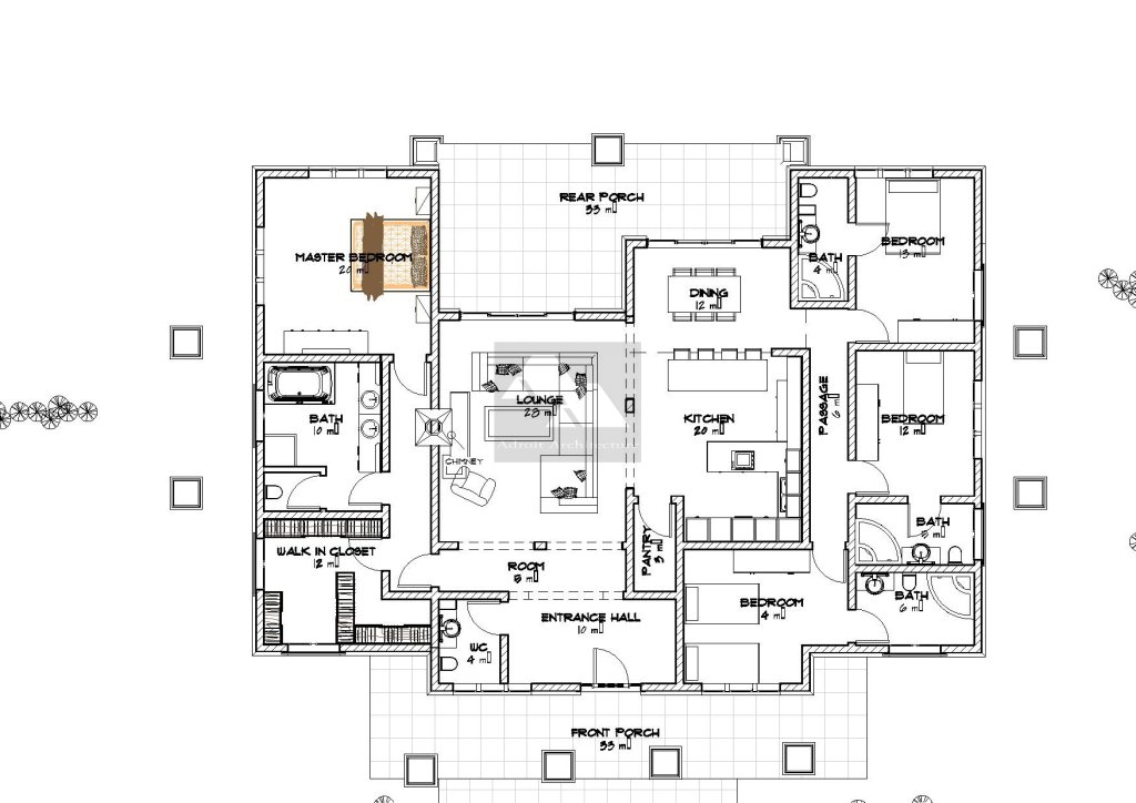 House plans in kenya bungalows home design and style for Kenya house plans
