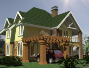 4 bedroom house plans in Kenya