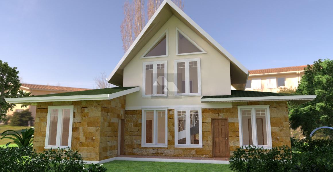 4 bedroom house plans in Kenya
