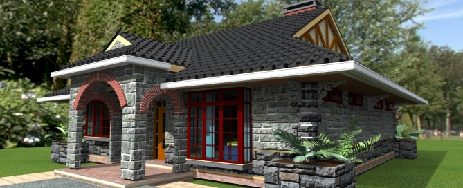 House plans in kenya david chola architect Two bedroom house plans in kenya