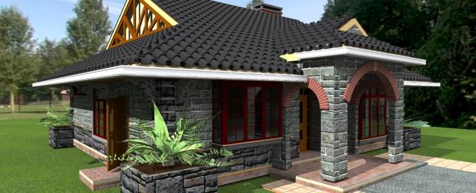 Common three bedroom house plans in kenya joy studio for Three bedroom house plans in kenya