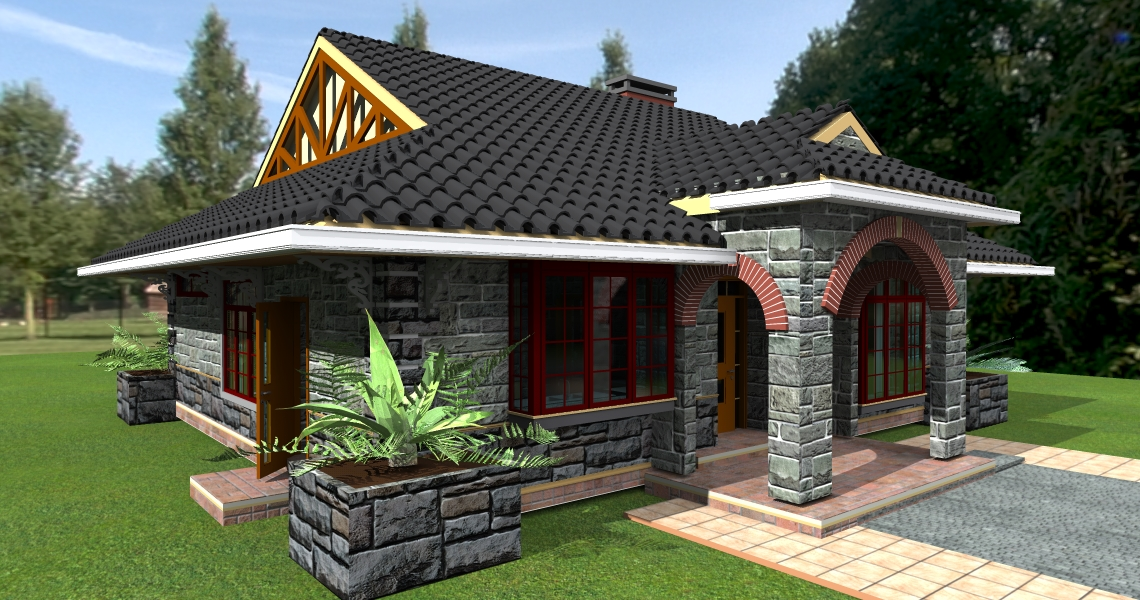 Deluxe 3 bedroom bungalow plan david chola architect 3 bedroom bungalow house plans