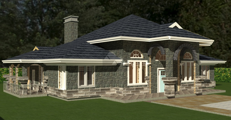 4 bedroom bungalow house plans in kenya joy studio for Kenya house plans