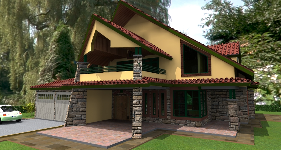 House plans in kenya kenani 4 bedroom house plan david chola