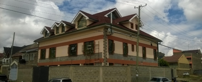 Construction in Kenya
