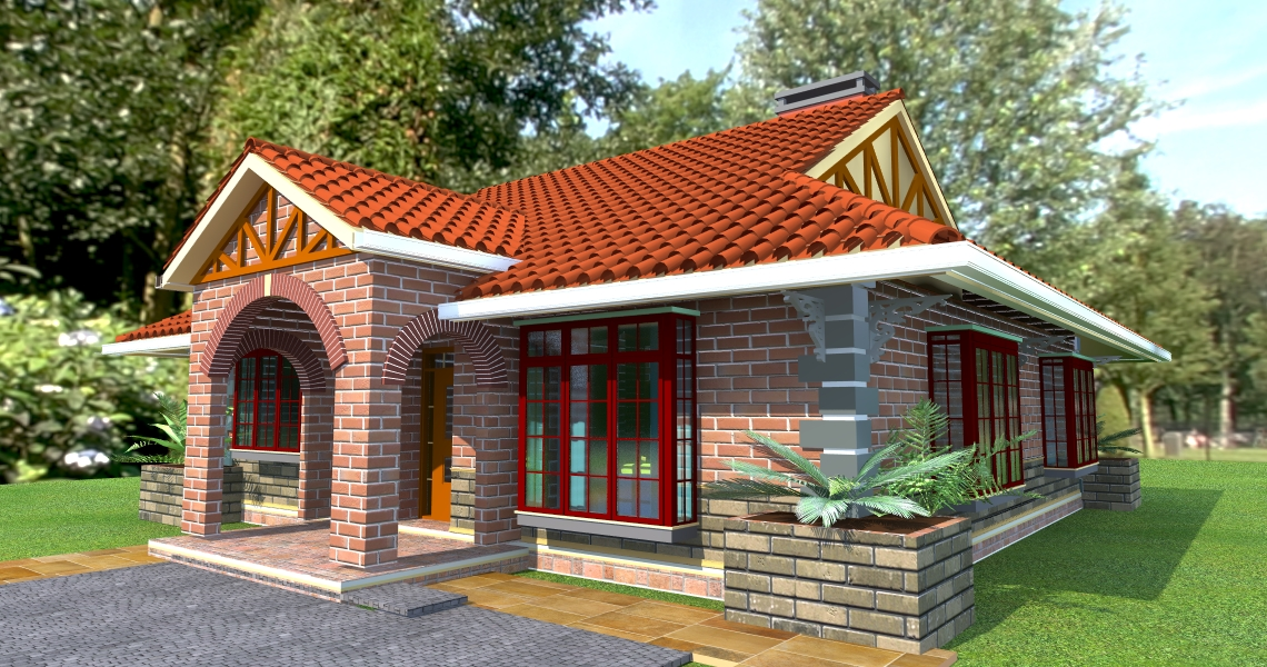 The Deluxe Bungalow House Plan David Chola Architect