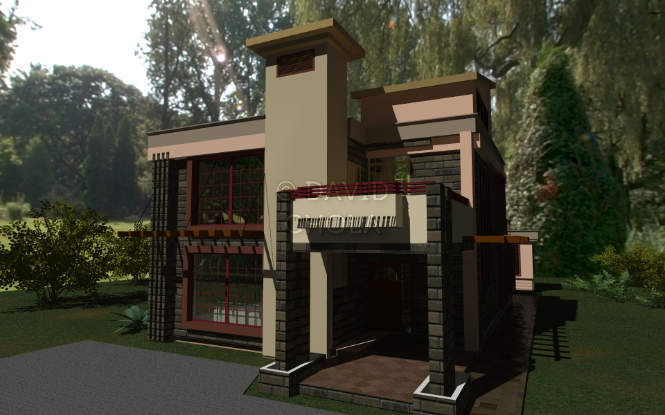 4 Bedroom House Plan