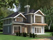 Elegant 4 Bedroom House Plan