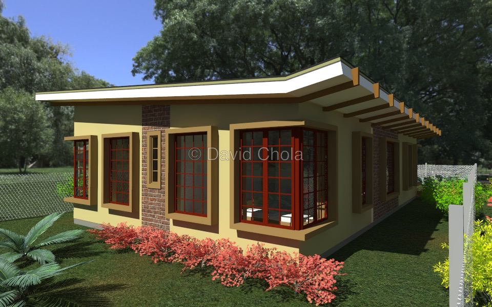 Budget 3 Bedroom Bungalow House Plan