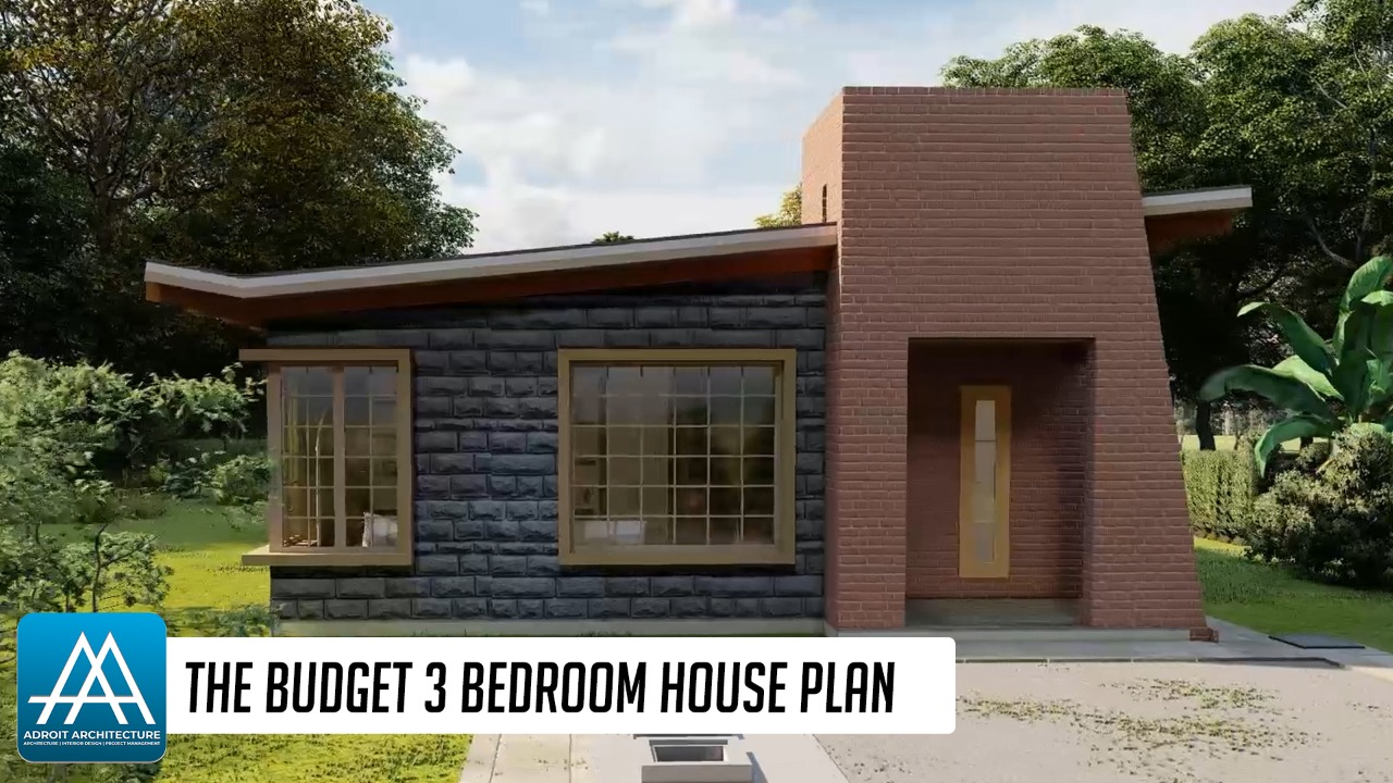 The Budget 3 Bedroom House Plan