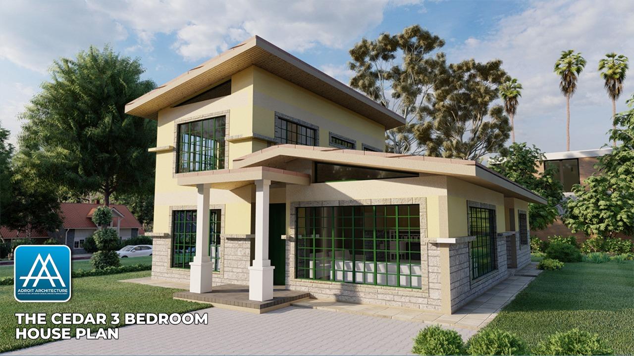 3 Bedroom House Plan