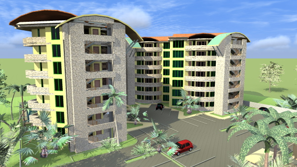 apartment house plans in Kenya