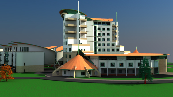 office block design by kenyan architect
