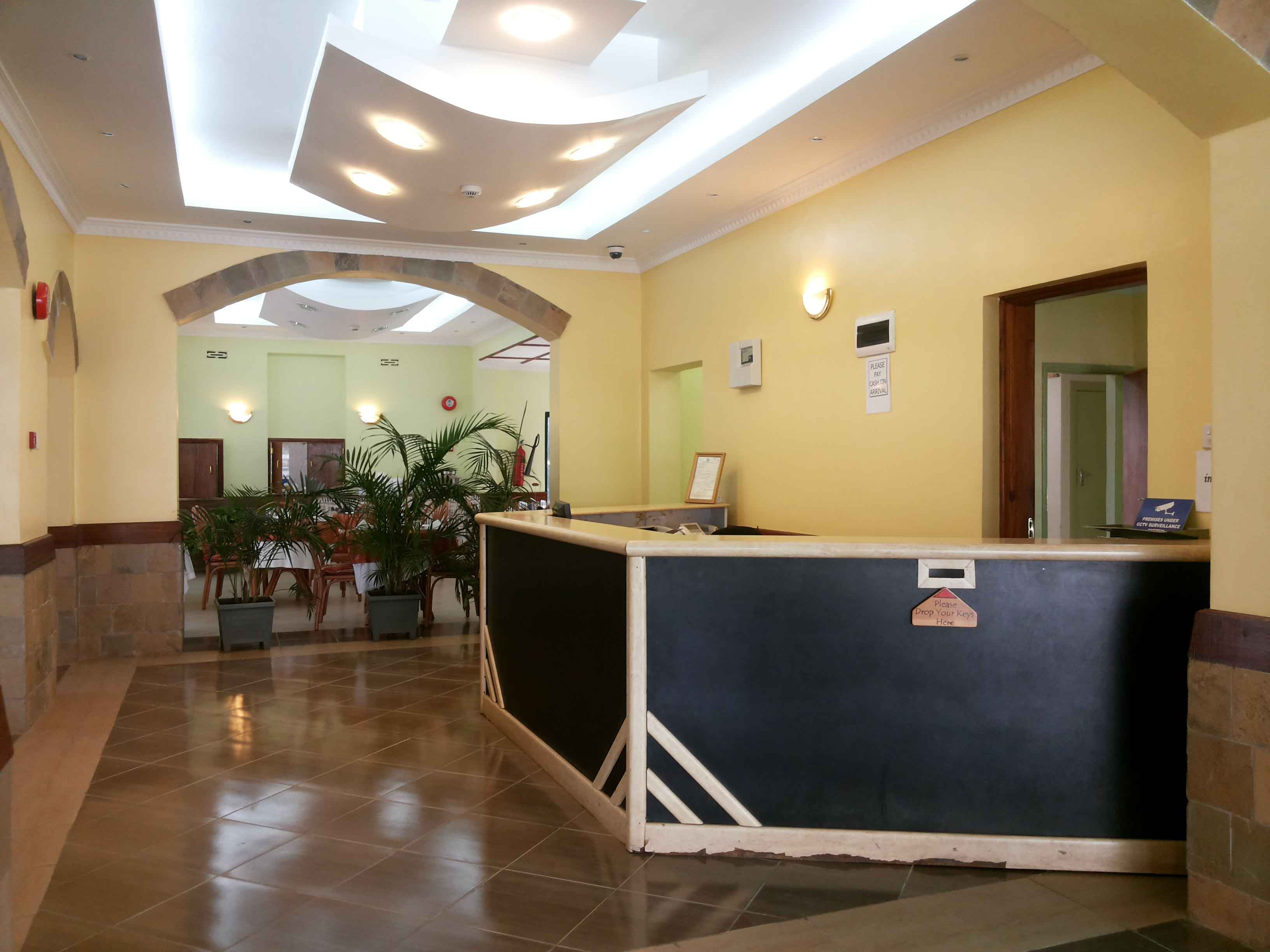 interior design by kenyan architect, ACK Guesthouse