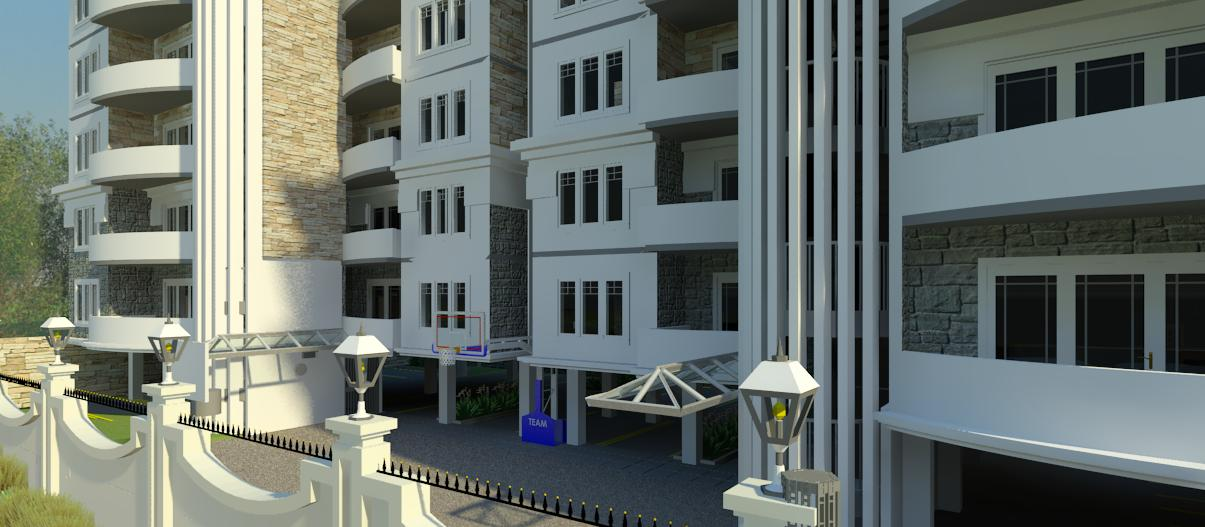 apartments by Kenyan architect