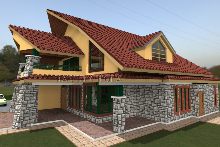roof design in Kenyan architecture