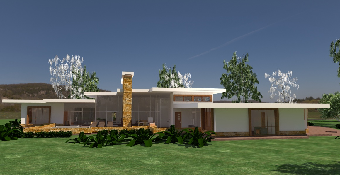contemporary house plans in Kenya