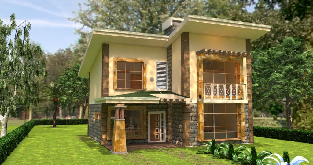 Cost of building a simple 3 bedroom house in kenya www for Cost of building a house in louisiana