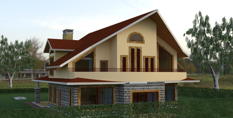 Four bedroom house plans in kenya for Cost of building a three bedroomed house in kenya