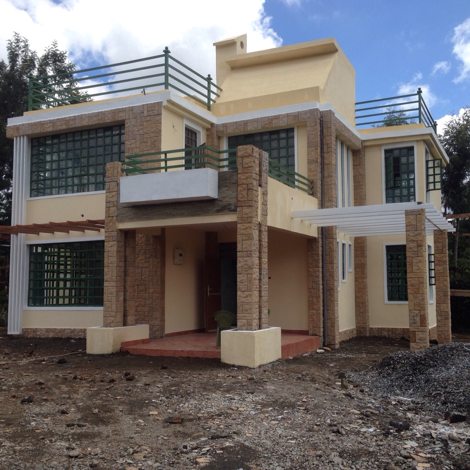 Different Countertops Different Roofing Of Houses In Kenya