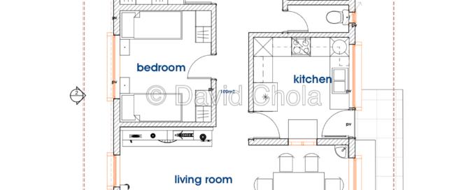 Budget 3 Bedroom Bungalow House Plan